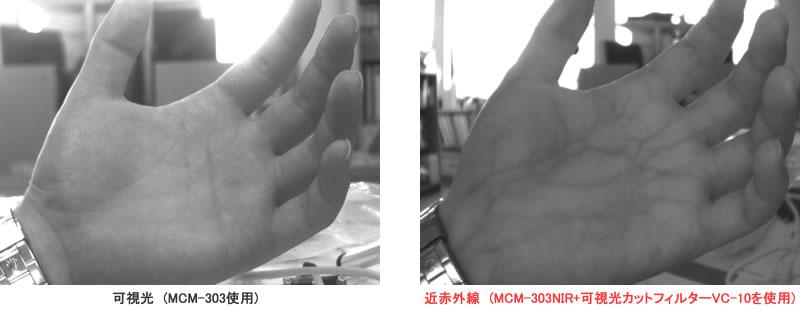 USB2.0 CMOSボードカメラ(近赤外...